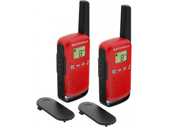 Радиостанция Motorola TalkAbout T62 Red/Black (2 штуки)