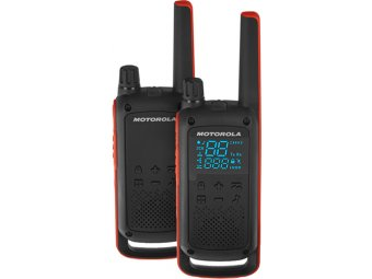 Радиостанция Motorola Talkabout T82 Red/Black (2 штуки)