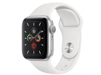 Смарт часы Apple Watch Series 5 GPS + Cellular 44mm Aluminum Case with Sport Band Silver