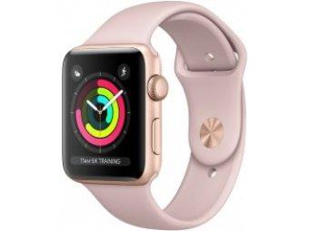Умные часы APPLE Watch S3 38mm, Rose Gold Al + Pink MQKW2 (MQKW2RU/A)
