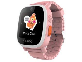 Часы с GPS трекером Elari FixiTime3 Pink (FT-301)