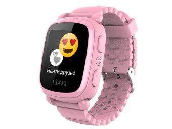 Умные часы с GPS трекером Elari Kid Phone 2 Pink