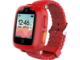 Умные часы с GPS трекером Elari KidPhone 3G Red