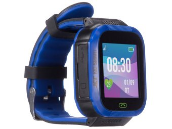 Умные часы с GPS трекером Jet KID Smart Dark Blue