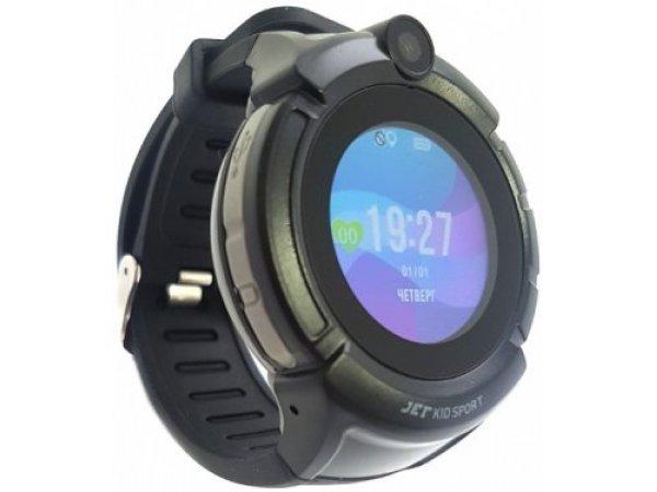 Детские умные часы JET Kid Sport Black