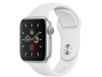 Смарт часы Apple Watch Series 5 GPS + Cellular 40mm Aluminum Case with Sport Band Silver