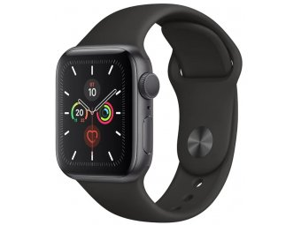 Смарт часы Apple Watch Series 5 GPS + Cellular 40mm Aluminum Case with Sport Band Space Grey