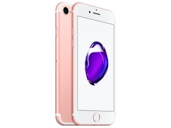 Смартфон Apple iPhone 7 128Gb Rose Gold (MN952RU/A)