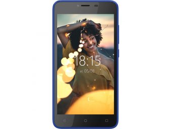 Смартфон BQ mobile BQ-5000G Velvet Easy Blue