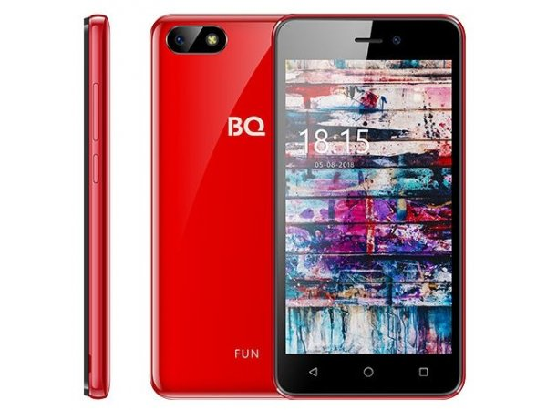 Смартфон BQ mobile BQ-5002G FUN Dark Glossy Red