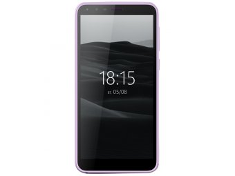 Смартфон BQ mobile BQ-5300G Velvet View Mint Purple