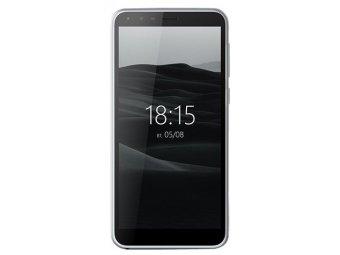 Смартфон BQ mobile BQ-5300G Velvet View Silver