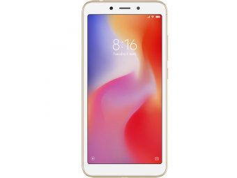 Смартфон Xiaomi Redmi 6 32Gb Gold