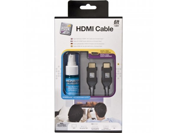 HDMI-кабель MONSTER Just Hook It Up HDMI Clean Kit - 6 EU (132628)