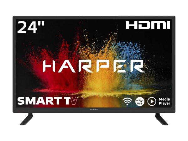 """LED телевизор 24"""" HARPER 24R490TS"""
