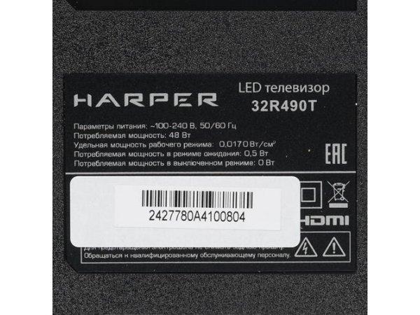 """LED телевизор 32"""" HARPER 32R490T"""