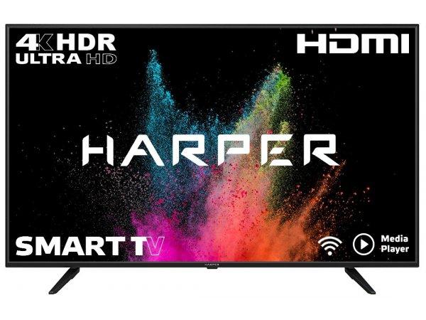 LED телевизор 4K Ultra HD HARPER 65U660TS