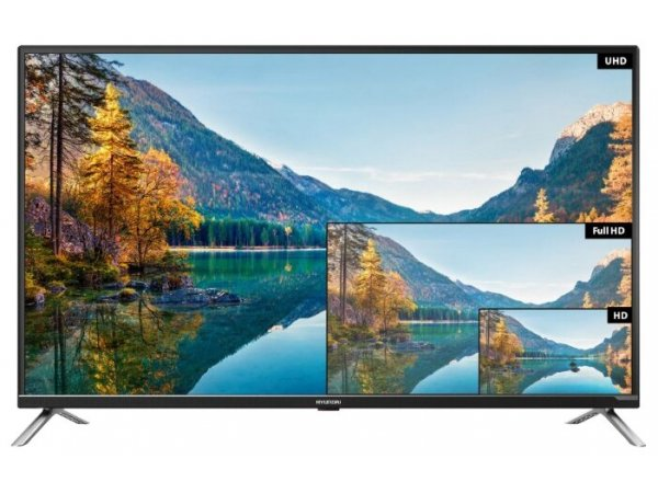 LED телевизор 4K Ultra HD Hyundai H-LED43U601BS2S