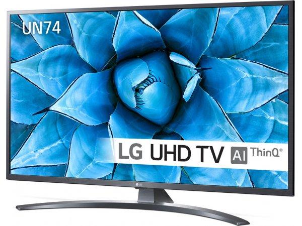 LED телевизор 4K Ultra HD LG 43UN74006LA