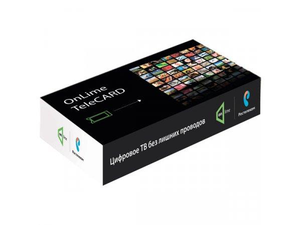Комплект цифрового ТВ Onlime TeleCard