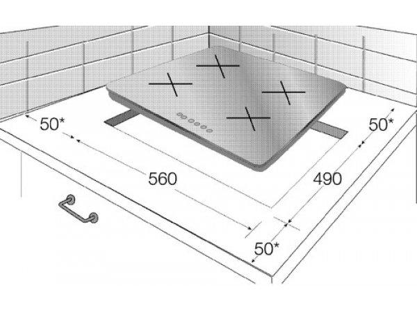 Электрическая варочная панель Beko HIC 64402 X