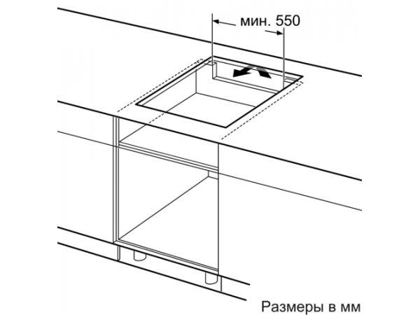 Индукционная варочная панель Bosch PIE611FC5Z