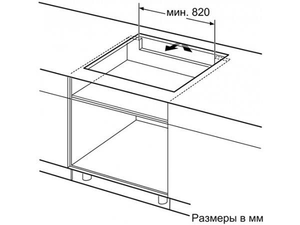 Индукционная варочная панель Bosch PXX975KW1E