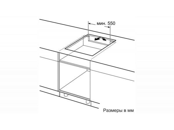 Индукционная варочная панель Bosch PXY695DX6E