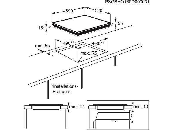 Индукционная варочная панель Electrolux EHG 96341 FK