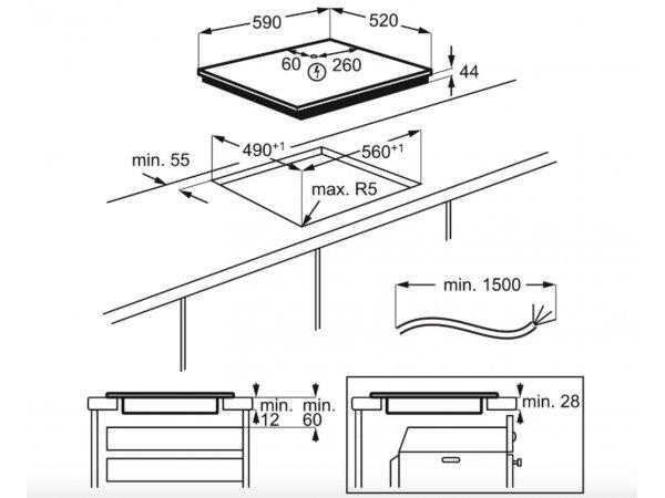 Индукционная варочная панель Electrolux IPE 6474 KF