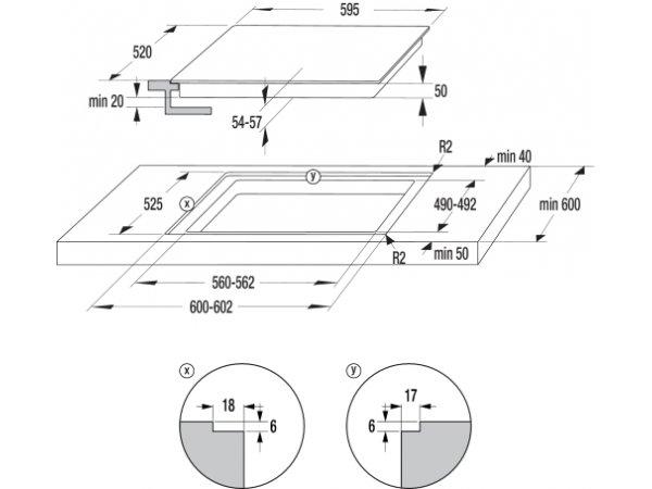 Электрическая варочная панель Gorenje ECT 643 BCSC