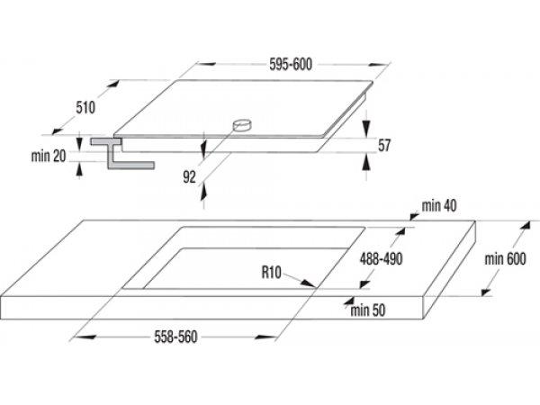 Индукционная варочная панель Gorenje IK 640 CLI