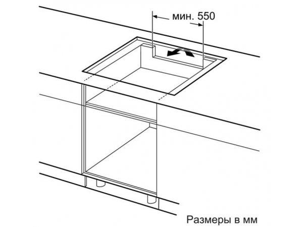 Индукционная варочная панель NEFF T68TS61N0