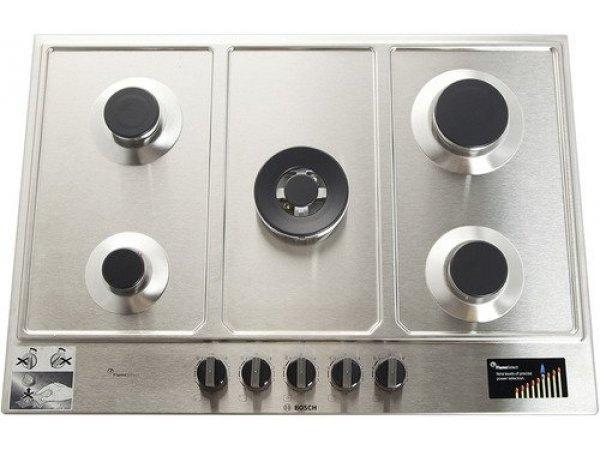 Газовая варочная панель Bosch PCQ7A5B90