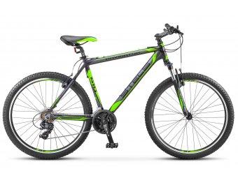Велосипед для взрослых STELS Navigator 610 V 26 V030 (2018) (рама 16) черный/салат.
