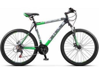 Велосипед для взрослых STELS Navigator 600 V 26 V030 (2018) (рама 18) черный/зеленый
