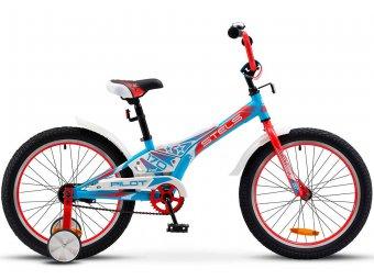 Детский велосипед STELS Pilot 170 20 V020 (2018) синий/белый/красный