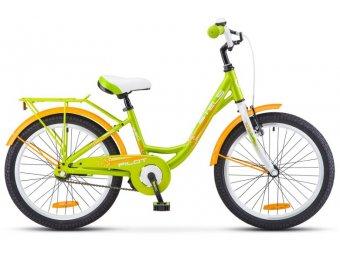 Подростковый велосипед STELS Pilot 220 Lady 20 V010 (2018) AL-рама, 1-ск зеленый