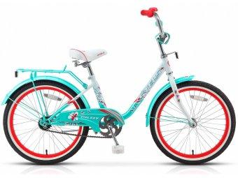 Подростковый велосипед STELS Pilot 200 Girl 20 (2017) светло-зеленый