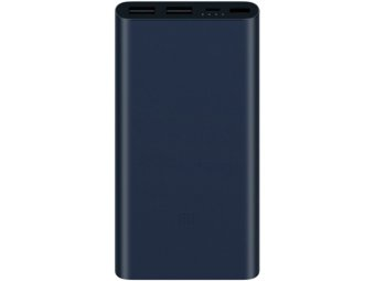 Внешний аккумулятор XIAOMI Mi Power Bank 2s 10000 mAh Black (PLM09ZM)