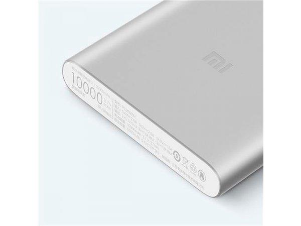 Внешний аккумулятор XIAOMI Mi Power Bank 2s 10000 mAh Silver (PLM09ZM)