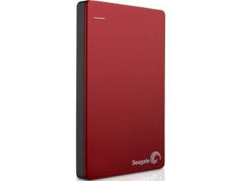 Внешний жесткий диск SEAGATE Backup Plus Slim STDR1000203 1Tb Red
