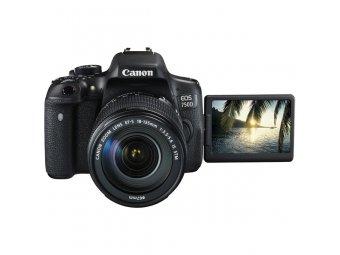 Фотоаппарат зеркальный Canon EOS 750D Kit 18-135 IS STM Black