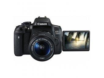 Фотоаппарат зеркальный Canon EOS 750D Kit 18-55 IS STM Black