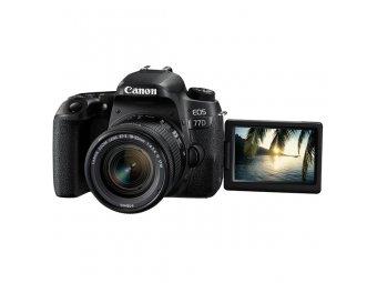 Фотоаппарат зеркальный Canon EOS 77D EF-S 18-55 IS STM Kit