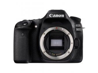 Фотоаппарат зеркальный Canon EOS 80D Body